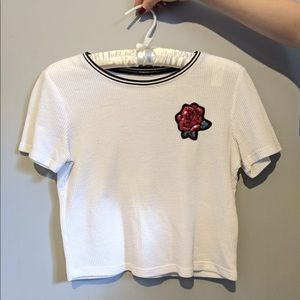3/20$ Hollister white top